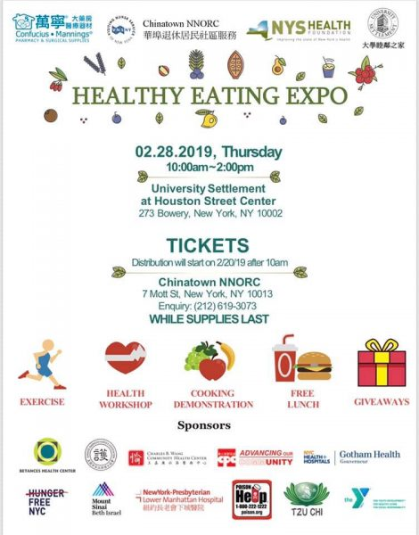 Healthy Eating Expo at University Settlement « Sara D  Roosevelt